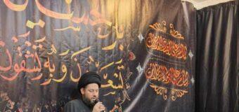 Sayed Ahmed Shirazi Meets Students from Lady Khadija Seminary