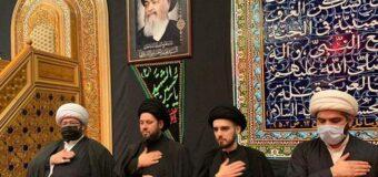 Sayed Ahmed Shirazi Participates in Commemorations at Rasul Adham Husayniya in Kuwait