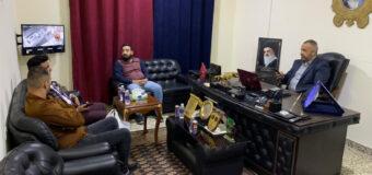 Journalists Honor the Executive Director of Al-Shaaer TV in Holy Kadhimiya