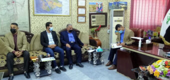 Misbah Al-Hussein Foundation Delegation Meets the Mayor of Hendia City