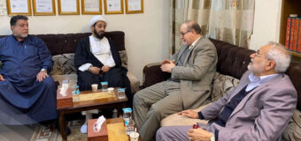 President of Center for Criminal Justice Meets Director of Misbah Al-Hussein Foundation
