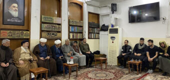 Office of Grand Ayatollah Shirazi Hosts Religious and Tribal Figures in Holy Karbala