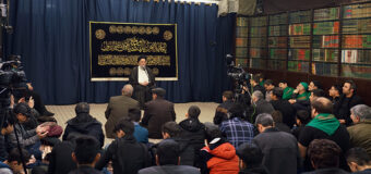 Sayed Hussein Shirazi Delivers Lecture to Community of Karbalaeis from Holy Mashhad