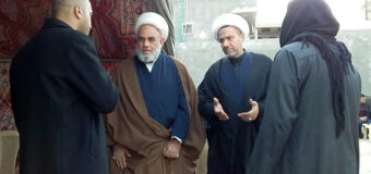 Delegates from Office of Grand Ayatollah Shirazi Meet Religious Figure in Hillah City Iraq