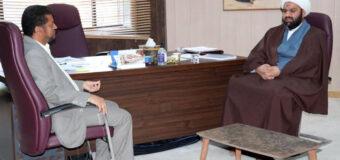 Members of AhlulBayt Institute Meet Director of Basra Radio Station