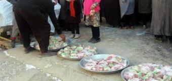 Fatima Zahra Orphanage Donates Meat to Needy in Kabul Afghanistan