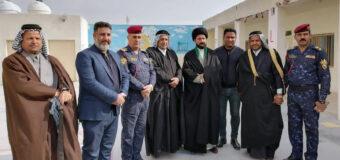 Director of Imam Hasan Zaki Husaynia Visits School in Baghdad