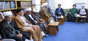 Office of Grand Ayatollah Shirazi Holds Weekly Gatherings in Holy Najaf