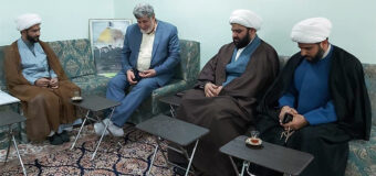 Delegates from AhlulBayt Institute Meet the Public Relations Manager of Grand Ayatollah Shirazi