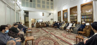 The Office of Grand Ayatollah Shirazi in Holy Karbala Hosts Scientific and Religious Figures