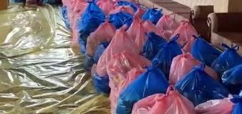 Um Abiha Institute Donates Dozens of Food Baskets to the Needy