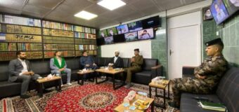 Karbala Police Chief Meets Director of Imam Hussein TV