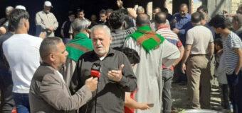 On the Occasion of 15th of Shaban Qasrul Imam Alhasan Husayniya in Hillah Donates Meat