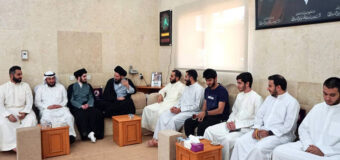 Members of Imam of Life Campaign Meet Sayed Ahmed Shirazi in Kuwait