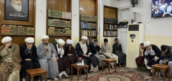 Office of Grand Ayatollah Shirazi in Holy Karbala Hosts Religious and Social Figures