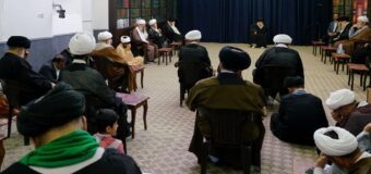 The House of Grand Ayatollah Shirazi in Holy Qom Commemorates the Tragedy of Baqee Cemetery Destruction Anniversary