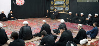 House of Grand Ayatollah Shirazi Holds Husseini Commemorations